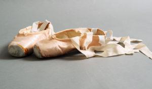 Spitzenschuhe Ballett